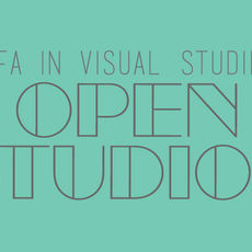 MFA Visual Studies Open Studios