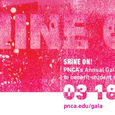 SHINE ON! PNCA's Annual Gala to Benefit Student Scholarships