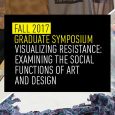 Graduate Symposium Panel: Disrupting Design Complacency. Hosted by the MFA in Collaborative Design
