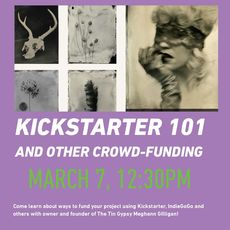 Kickstarter 101 and other Crowd-Funding