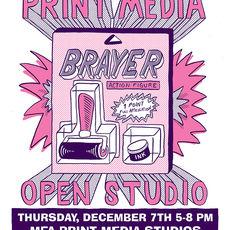 MFA Print Media OPEN STUDIO!